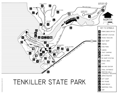 View Tenkiller State Park Map