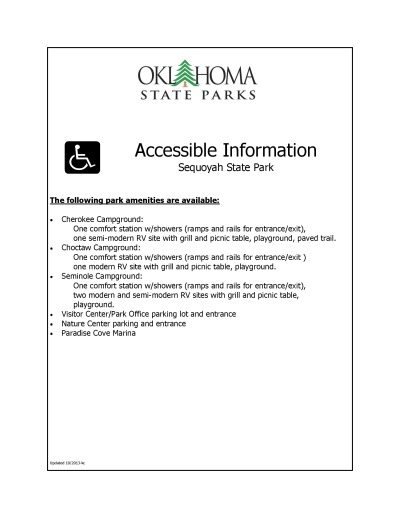 View ADA/Accessibility Information